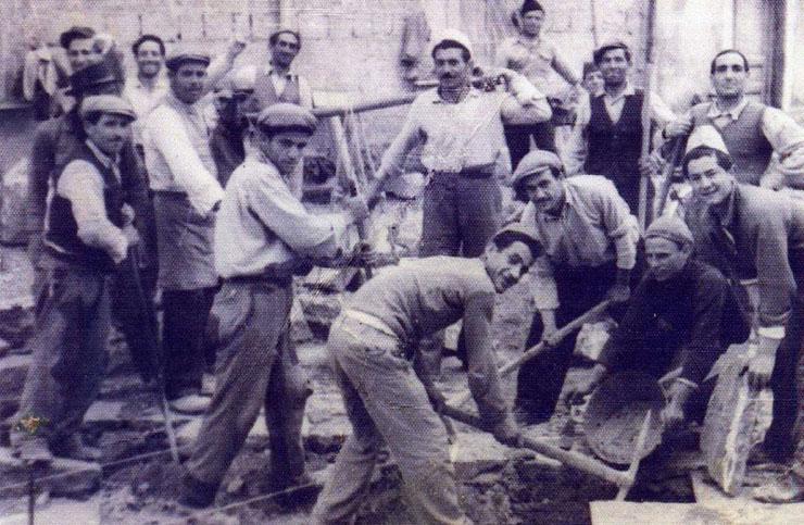 Famiglia Martire, scalpellini e posatori di basole di Boscoreale
